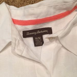 Tommy Bahama Tops - Tommy Bahama button up linen blouse